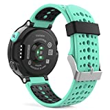 Garmin Forerunner 235 Accessories, MoKo Soft Silicone Replacement Watch Band for Garmin Forerunner 235 / 220 / 230 / 620 / 630 / 735 Smart Watch - Mint GREEN