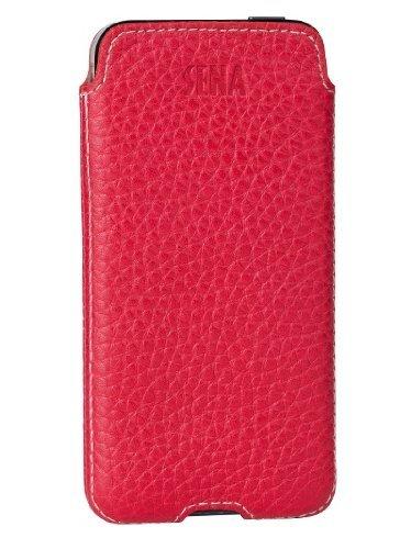 buy popular f4c6e 5fb08 Sena Cases Ultraslim Access for iPhone 5S/5 - Retail Packaging - Red/Ecru