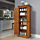 Americana Distressed Oak Pantry by Home Styles
