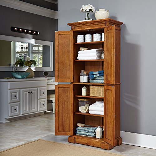 Home Styles 5004-69 Americana Pantry Storage Cabinet