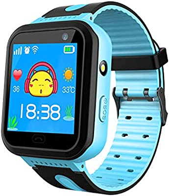 Amazon.com: Kids Waterproof Smart Watch Phone - Smartwatch ...