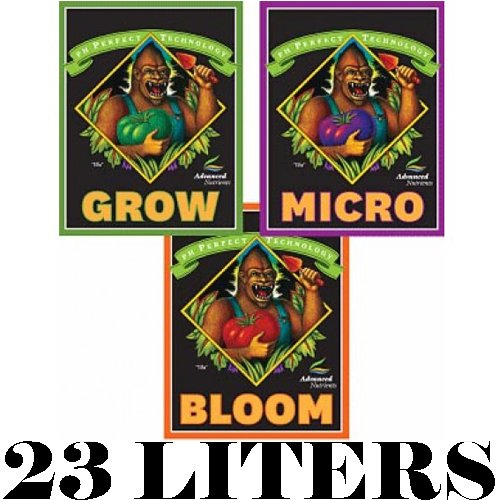 Advanced Nutrients pH perfect Grow, Micro, Bloom, 3-Part Base Nutrient (23L)