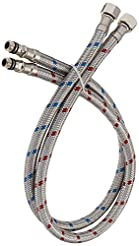 BWE 24-Inch Long Faucet Connector Braide...