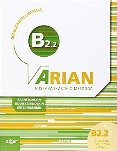 Arian B2.2 Ikaslearen Liburua por Batzuk