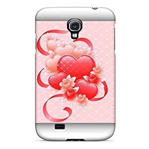 High Impact Dirt/shock Proof Case Cover For Galaxy S4 (pink Love)