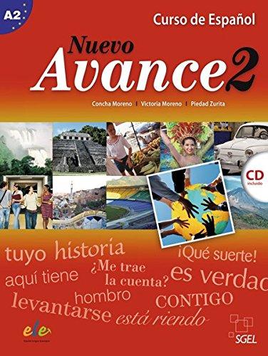 Nuevo Avance 2: Curso de Español / Kursbuch mit Audio-CD