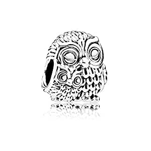 Amazon Pandora Charming Owls Charm 791966 Jewelry