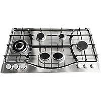 HOTPOINT plaque de cuisson à gaz de 90 cm PHN 962 TS/IX/HA PHN962TSIXHA avec 6 brûleurs