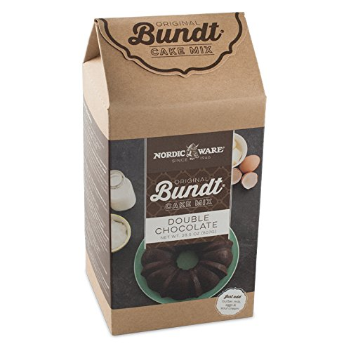 Nordic Ware Double Chocolate Bundt Cake Mix -