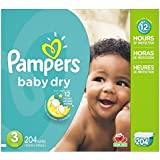 P&G Pampers Baby Dry Diapers Economy Pack Plus, Size...