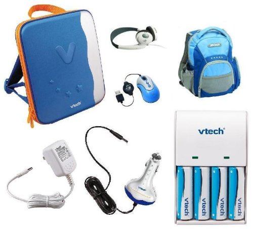 Vtech InnoTab Power and Travel Pack: InnoTab Power Adapters and Carrying Cases by VTech (Image #1)