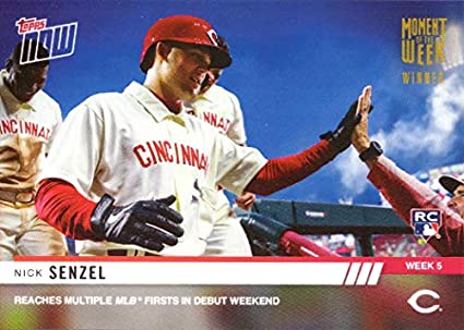 2d9274d9d Amazon.com: 2019 Topps Now Moment of the Week Gold Winner #MOW-5W ...