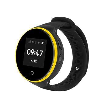 Para niños seguridad GPS reloj inteligente elegante, Y56 ZGPAX s668 a GPS WIFI multifuncional reloj