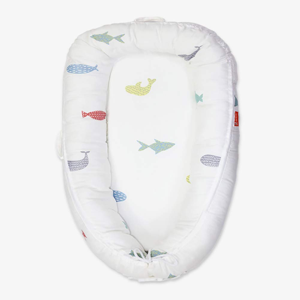 Newborn Portable Bionic Bed Cotton Baby Detachable Washed 60 80 Cm//23.6 31.5 Inch,1
