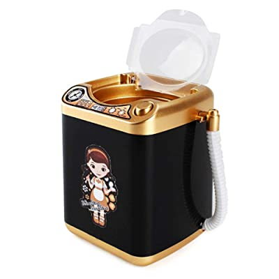 Weemoment Washing Machine Toy Baby Home Miniature Laundry Playset Mini Pretend Play Toy Furniture Washing Machine for Kids : Baby