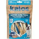 Kalos 1 Pouch Vanilla Yogurt & Blueberry Rawhide Twists Double Chew (7 Pack), Small Review
