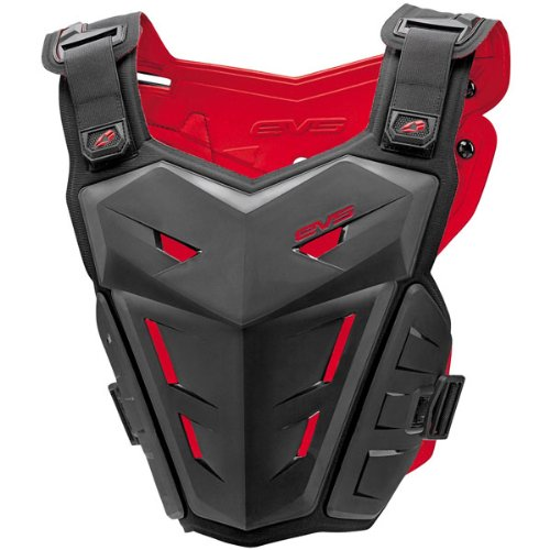 EVS F1 Adult Roost Guard MotoX/Off-Road/Dirt Bike Motorcycle Body Armor - Black / Large/X-Large (Chest Plate Armor)