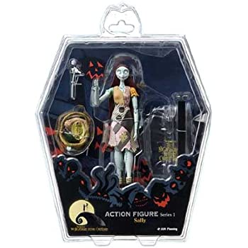 Amazon.com: Nightmare Before Christmas/Sally Action Figure ...