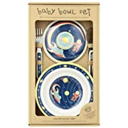 Sugarbooger Covered Suction Bowl Gift Set, Outerspace