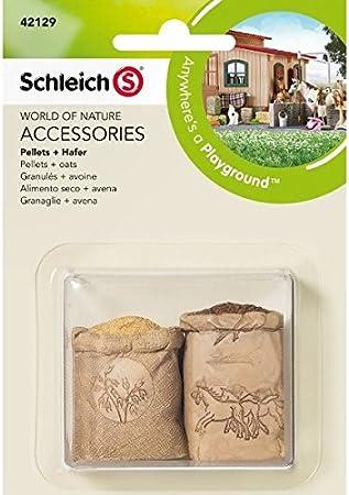 Schleich - Alimento seco y Avena, Set de Accesorios (42129)