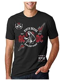 AC/DC Done Dirt Cheap Mens Music Band Tee