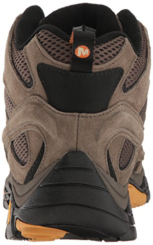 Merrell Mens Moab 2 Vent Mid Hiking Boot Walnut