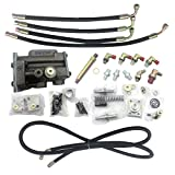 SINOCMP EX100-3 EX100-3 Excavator Conversion Kit Conversion Kit with 1 Screw for Hitachi EX120-2 EX120-3 Hydraulic Pump Regulator Parts with English Installation Instruction, 6 Month Warranty