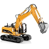 Top Race Diecast Heavy Metal Construction Toy Tractor 1:40 Scale (Excavator)