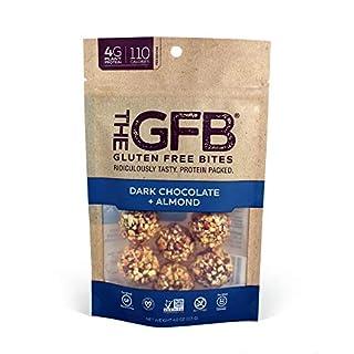 The GFB Gluten Free Protein Bites, Dark Chocolate Almond, 4 Ounce, Vegan, Dairy Free, Non GMO, Soy Free