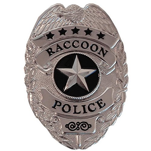 Resident Evil Raccoon Police Prop Badge]()