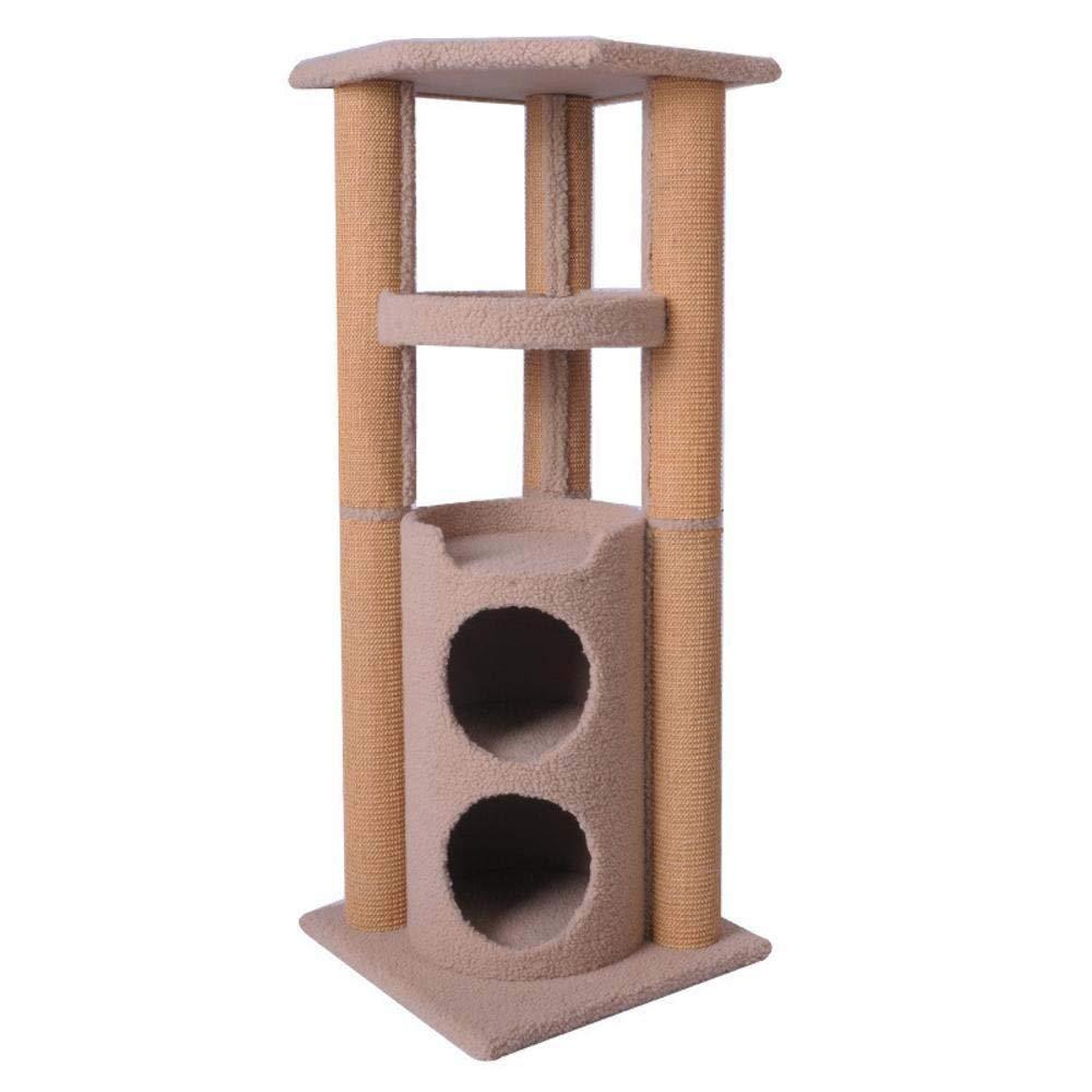 bluee Weiwei Sisal Cat climbing frame cat jumping cat grab column for sleeping Games 104cm 40cm  40cm