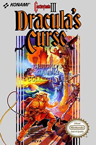 Castlevania CGC Huge Poster Glossy Finish III Original Nintendo NES Box Art - CAS018 (24