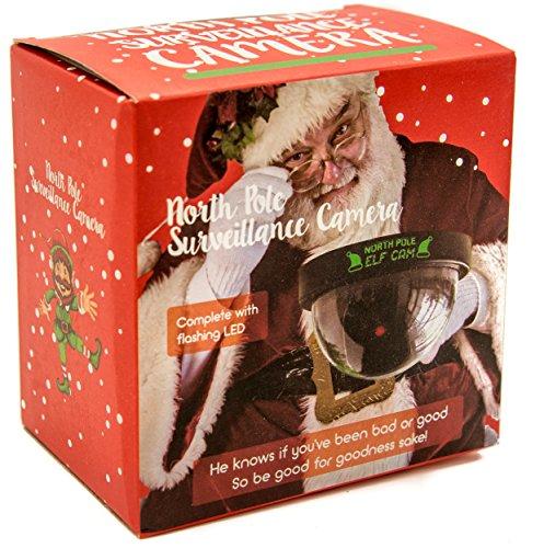 North Pole Santa Elf Surveillance Toy Camera With Cctv Warning Window Sticker Buy Online
