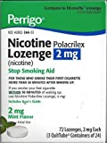 Best Nicotine Polacrilexes - Perrigo Nicotine Polacrilex Lozenge 2mg ~ MINT flavored Review
