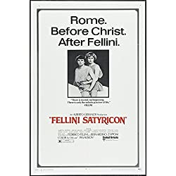 "Satyricon (1969) ""Fellini - Satyricon"" (Original Title) Movie Poster 24x36"