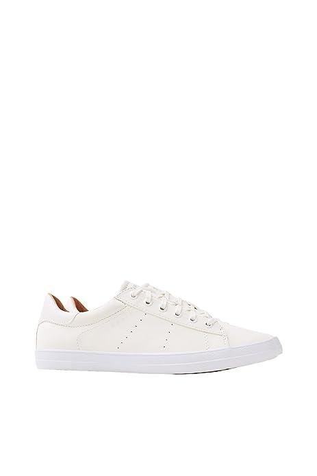 Damen Sneaker Sonet Lace up White 028EK1W021/E100 Weiß 422763 Esprit fc617wL