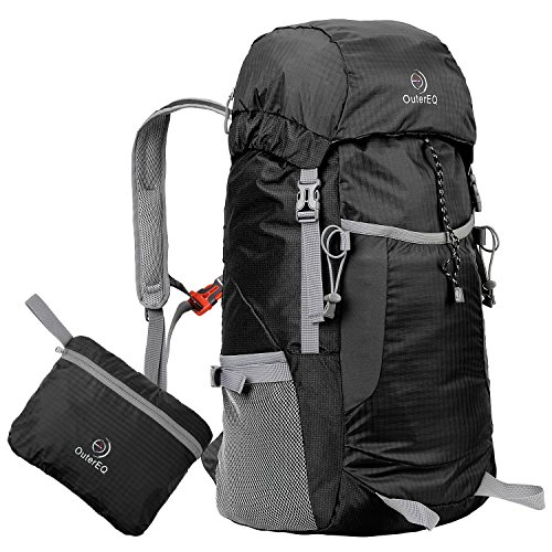 outereq-38l-packable-handy-lightweight-travel-backpack-daypack-water-resistant-for-camping-hiking-bl