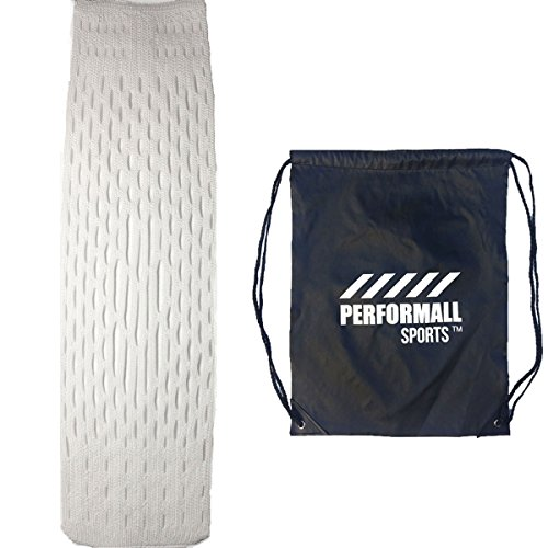 Channel Mesh LacrosseAll Weather Performance Lacrosse Mesh ProTech Pattern Mid to Low Pocket with 1 Performall Sports Drawstring Bag Eclipse Mesh