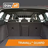 Travall Guard for Volkswagen Golf Wagon (2013-Current) Also for Volkswagen Golf Alltrack (2015-Current) TDG1472 [Models with Sunroof Only] - Rattle-Free Steel Pet Barrier