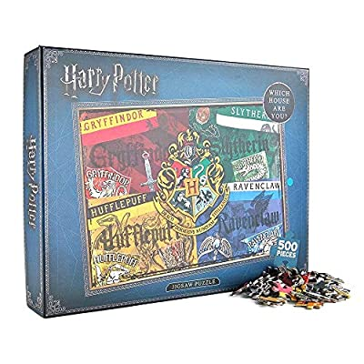 Harry Potter Puzzle 500 Pezzi Scatola Di Cartone Unica