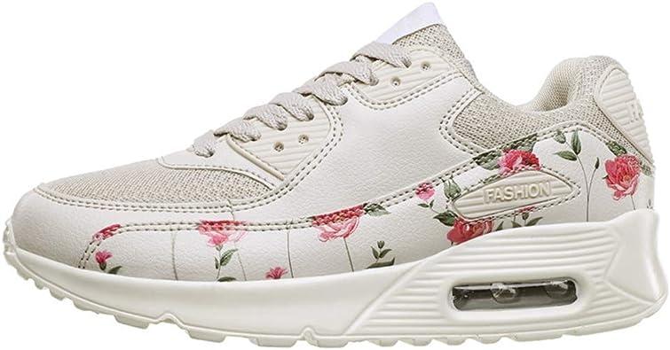 Zapatillas de Deporte para Mujer Zapatillas de Deporte Impermeables y Transpirables Cojín de Aire Deportivo Zapatillas Deportivas para Correr: Amazon.es: Zapatos y complementos