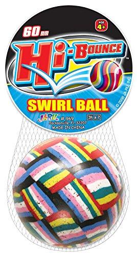 Ja-Ru Hi-Bounce Ball Party Favor Bundle Pack, (High Bounce Ball Assortment)