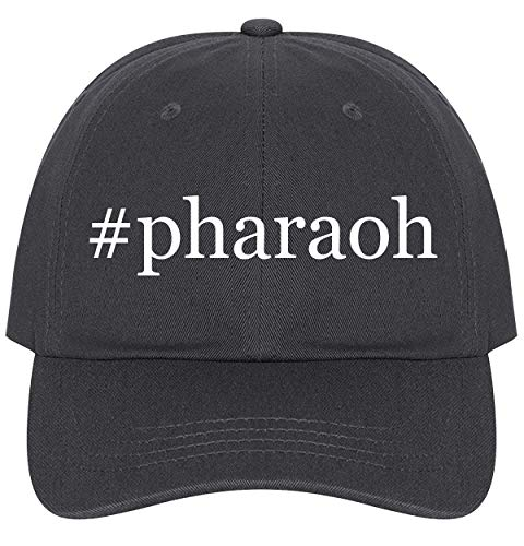 The Town Butler #Pharaoh - A Nice Comfortable Adjustable Hashtag Dad Hat Cap, Dark Grey