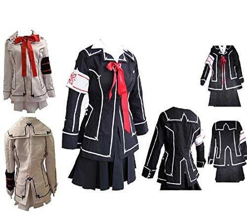 (Vampire Knight Cosplay Costume Yuki Cross White Black)