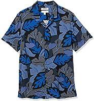 Amazon Brand - Goodthreads Men's Slim-Fit Short-Sleeve Camp Collar Hawaiian Shirt