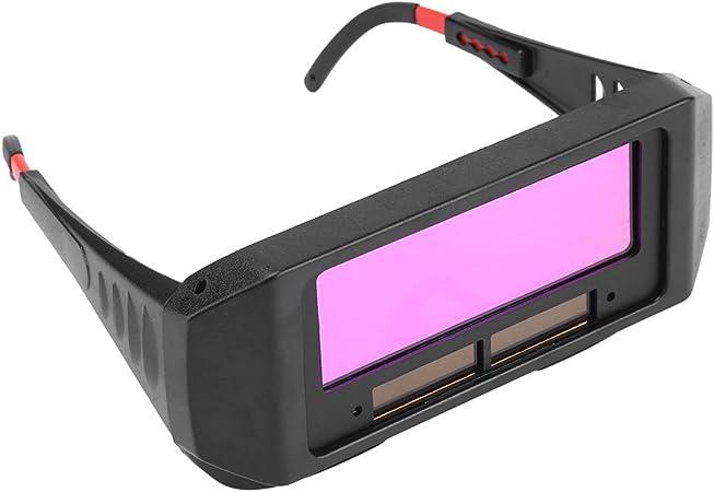 Lunettes solaires automatiques de soudure dobscurcissement en couleur noire Lunettes de soudure Lunettes de Protection de Soudeur pour Prot/éger vos yeux des /étincelles