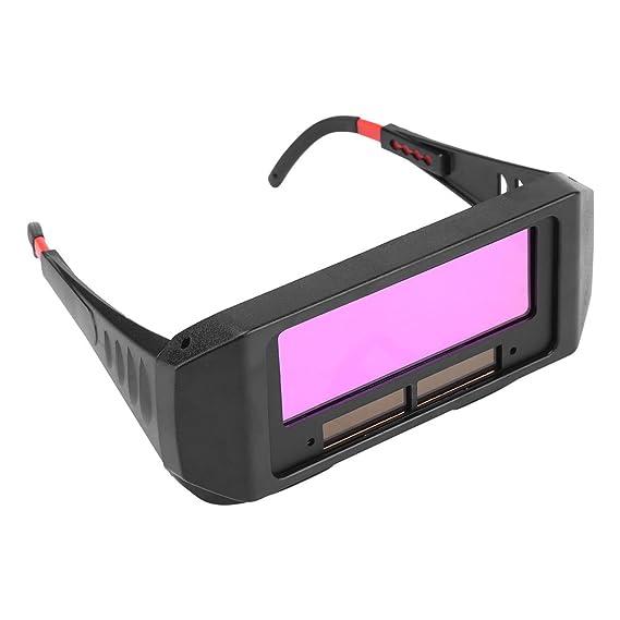 Negra Color Solar Auto DKL sudor Protección Gafas Protección de seguridad sudor Gafas soldador Ojos vasos para proteger sus ojos contra chispas<br/>: ...