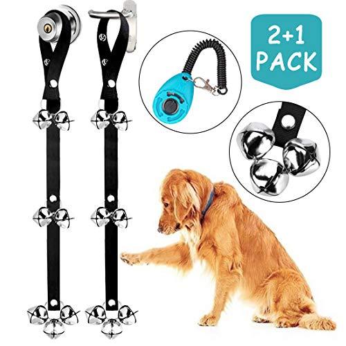 2 Pack Dog Doorbells