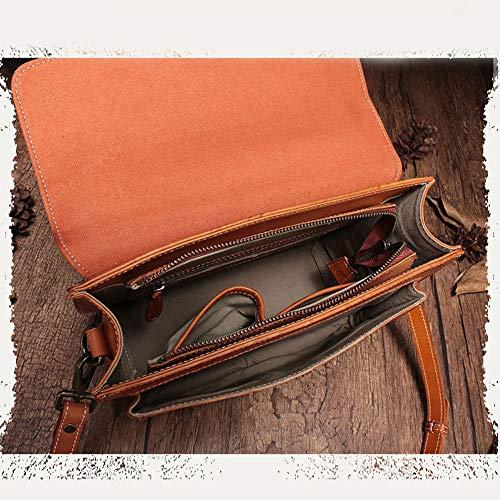 à Capacité à La Grande Main Main Sac Cuir Cuir Bandoulière Bag Sac à en Sacs en Messenger 6qEPBB