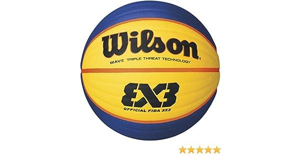 2018 Wilson FIBA 3 x 3 Produit Officiel Jeu de Basketball: Amazon ...